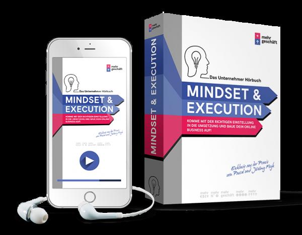 Mehr Geschäft - Mindset und Execution - Hörbuch von Pascal Feyh